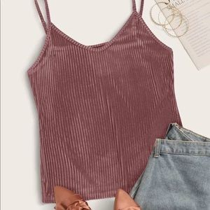 Tops - Plus Size Corduroy Top
